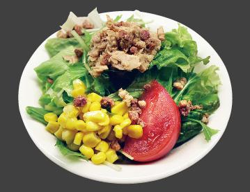 ツナとベーコンのサラダ